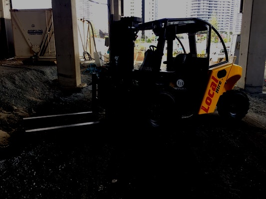 0 - 3t Forklifts for hire - M.A. Skinner