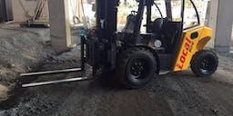 Barkly Hire Pty Ltd Diesel Powered Forklift