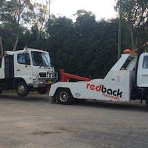 Logo of RedBack Towing