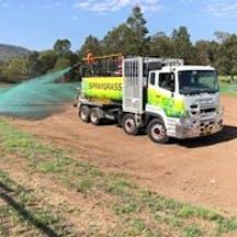 Logo of Spraygrass Landscapes Australia Pty Ltd