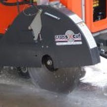 Logo of Crosscut Concrete Sawing & Drilling