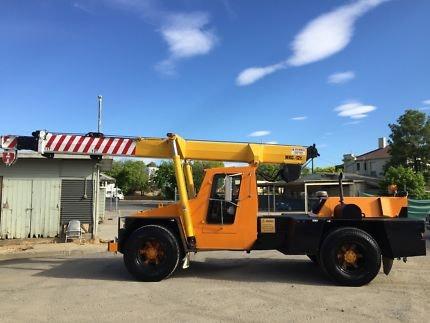 11t - 20t SWL Cranes for hire - Crane Hotline