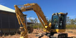 BRP Earthmoving Track Mounted Excavator