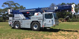 Advanced Cranes and Rigging Mobile Slewing Crane