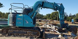 Ballard's Earthmoving & Demolition Track Mounted Excavator