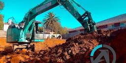 Azcavation Earthmoving  Track Mounted