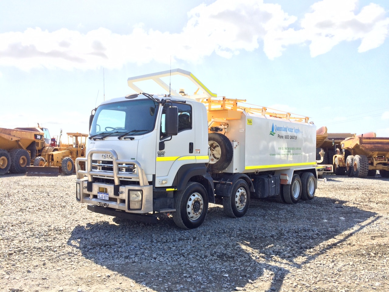 17000 - 20000L Water Cart for hire - Queensland Water Supply PTY LTD