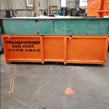 Logo of Transformer Bin Hire | Rubbish removals