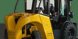 All Terrain Services Diesel Powered Forklift