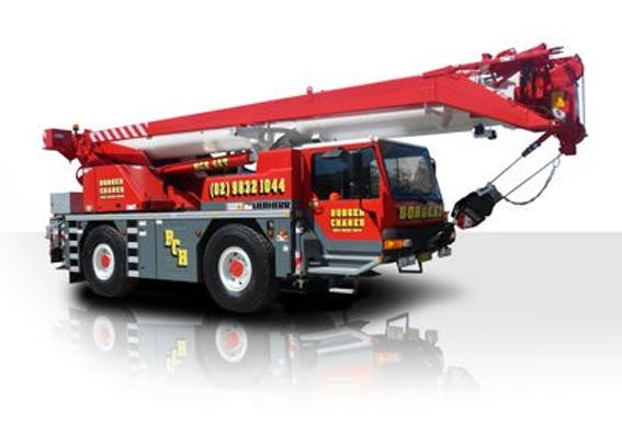 Borger Cranes machinery for hire across Australia