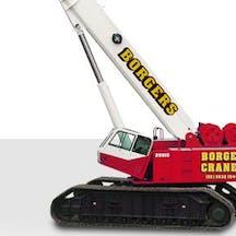 Logo of Borger Cranes