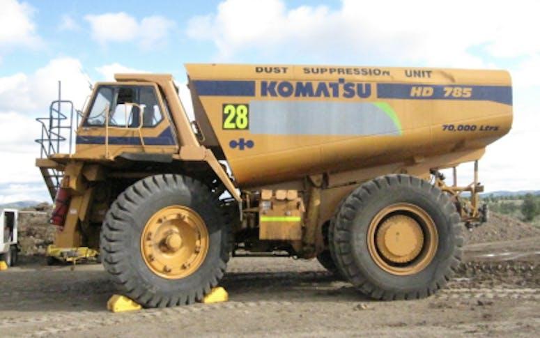 Dump Truck Mounted Water Cart