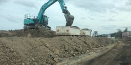 Border Constructions Track Mounted Excavator