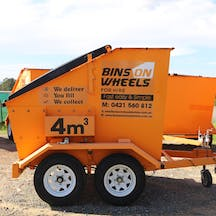 Logo of Bins On Wheels for hire