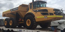 Blake Machinery Pty Ltd Articulated Dump Truck