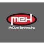 MEH McClure Earthmoving logo