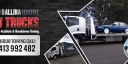 Ballina Tow Trucks banner