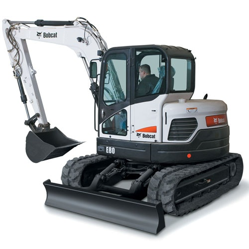 8t - 11.9t Excavator for hire - Thomas Kingsley Resources Pty Ltd