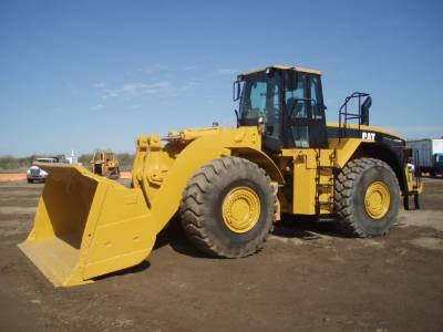 More than 6m cubed Bucket Capacity Loader for hire - Thomas Kingsley Resources Pty Ltd