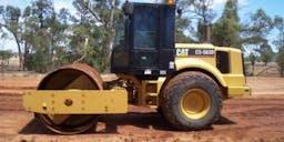 BG & L OSTLER Excavations Pty Ltd Smooth Drum Roller
