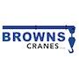 Browns Cranes logo