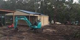 AE EarthWorks Track Mounted Excavator