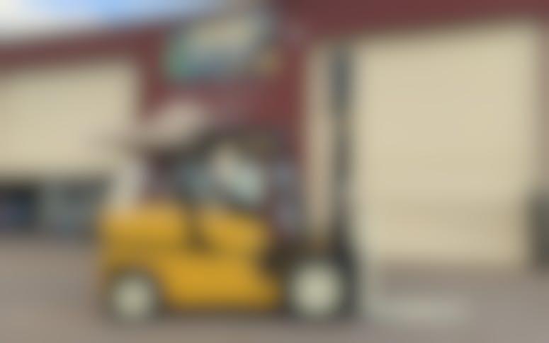 Diesel Powered Forklift