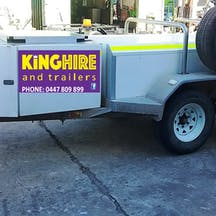 Logo of King Hire & Trailers