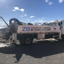 Logo of ZB Concrete Pumping