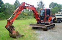 3.5t - 5.4t Excavator for hire - Blues bob cat hire
