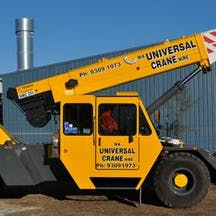 Logo of Universal Cranes Pty Ltd