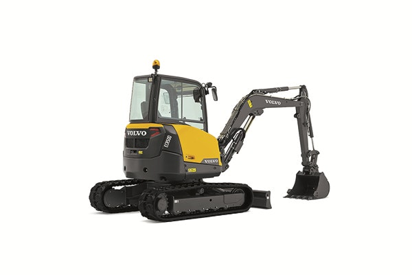 3.5t - 5.4t Excavator for hire - Vrents