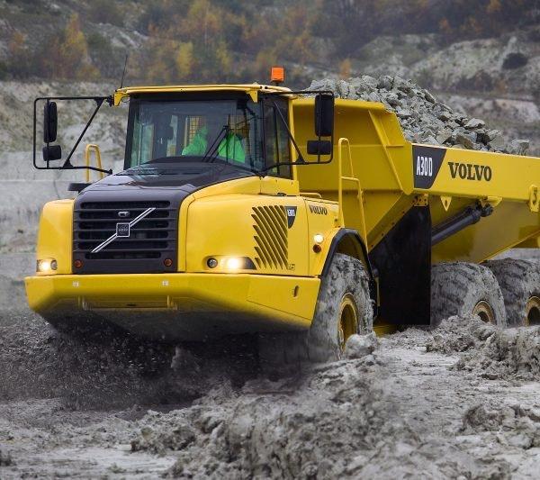 30t - 39t Dump Truck for hire - Vrents