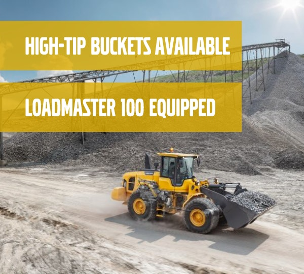 3-6m cubed Bucket Capacity Loader for hire - Vrents