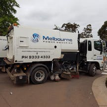 Logo of Melbourne Power Sweeping