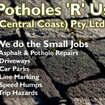 Logo of Potholes 'R' Us (Central Coast) Pty Ltd