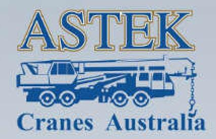 Astek Cranes Australia