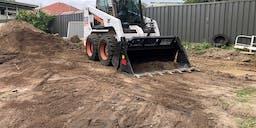 BNJ Excavations  Wheeled Skid Steer