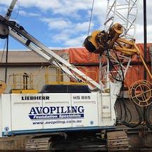Logo of Avopiling NSW Pty Ltd