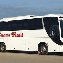 Logo of Broome Transit