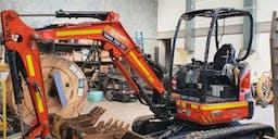 BRP industries Track Mounted Excavator