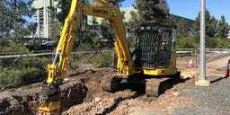 Atta Pty Ltd  Track Mounted Excavator