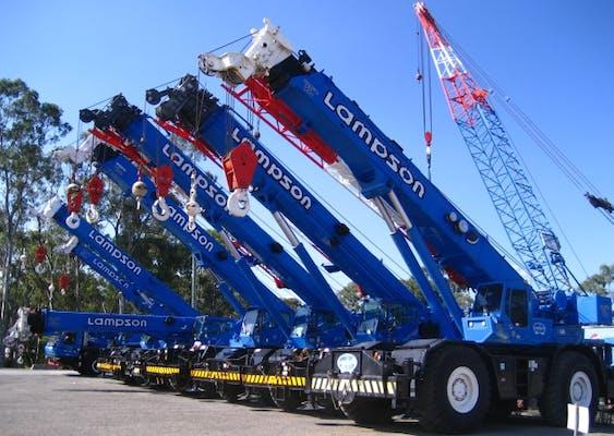 Lampson (Australia) Pty Ltd machinery for hire across