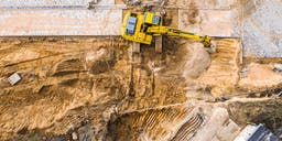 A1 dynamic ground maintenance Track Mounted Excavator