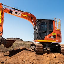 Logo of DCI Plant Hire