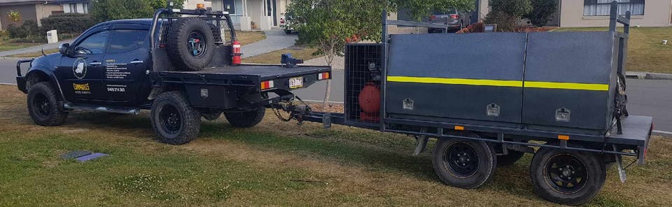 Campbell's Diesel Services machinery for hire in Pimpama