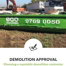 Logo of Eco Demolition (NSW) Pty Ltd
