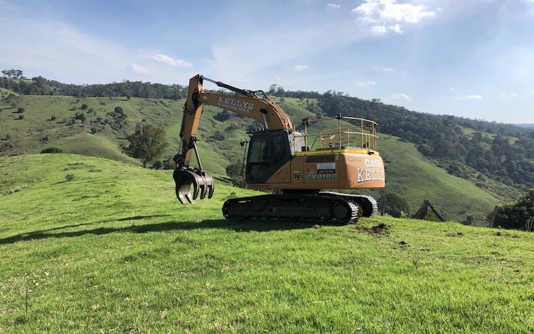 High Reach Excavator