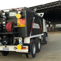 Logo of Mt Larcom Water Truck Hire