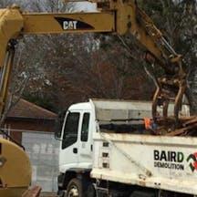 Logo of Baird demolition